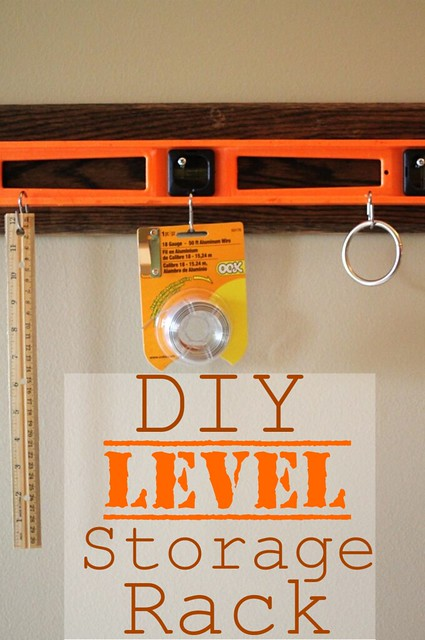 DIY Level Storage Rack  on Blissgul & Domestic