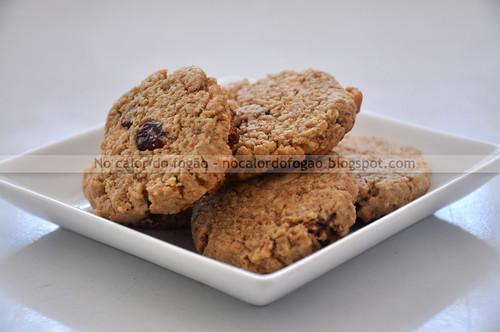 Cookies de aveia, limão, cranberries e chocolate branco_