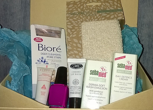 Goodiebox, April unboxing