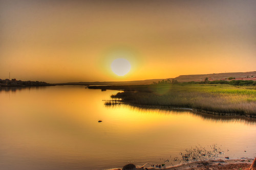 sunset sahara landscape golden morocco laayoune sakiaelhamrariver