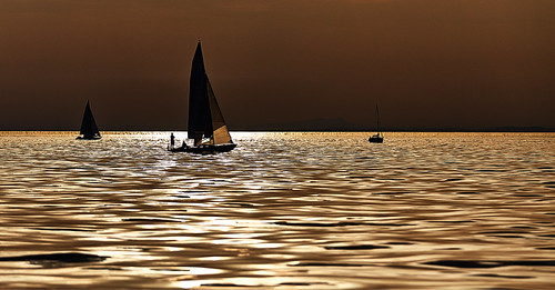 Abends auf dem Bodensee