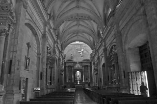 Guadalajara - Templo Santa Maria de Gracia inside