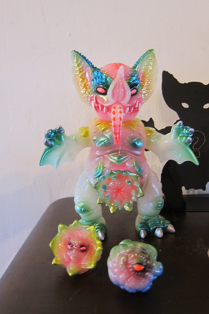 Paul Kaiju A Fist Full of Dominos Show SDCC 2014