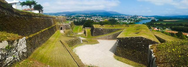 Fortress walls of Valença do Minho (Portugal)