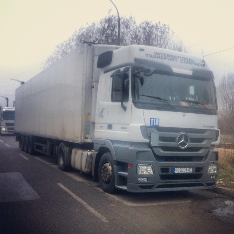 Pimk truck in Montana (Bulgaria)