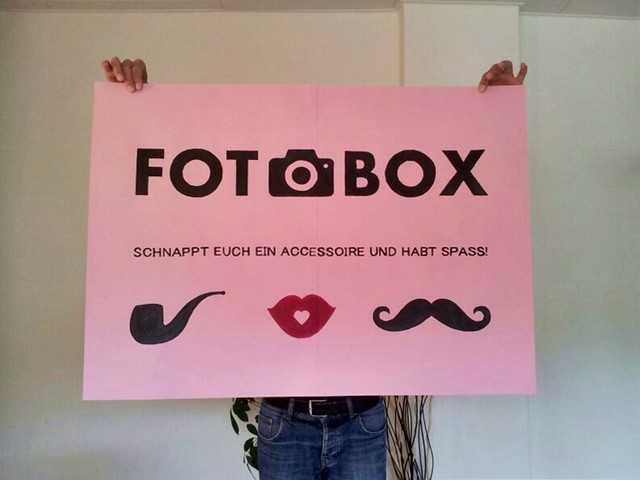 Photobooth-Plakat