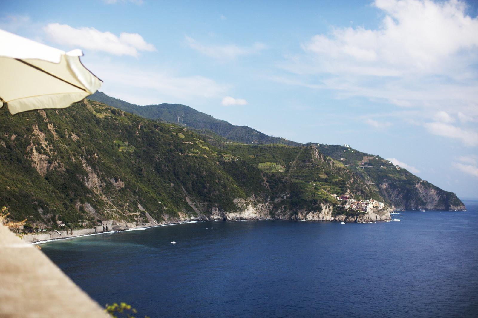 view for Corneglia, Cinque Terre, Italy