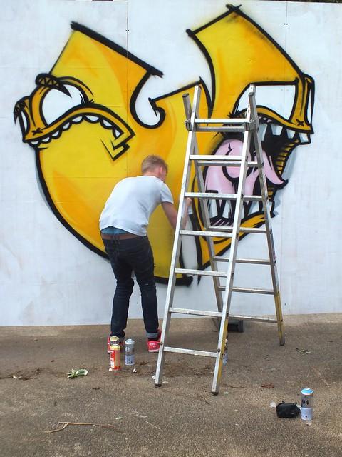 Flava at The Gloucester Paint Jam 2014