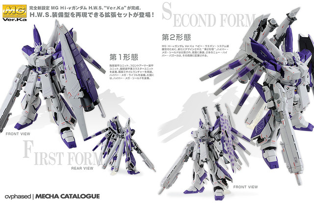 MG Hi-Nu Gundam Ver.Ka H.W.S. - Official Shots