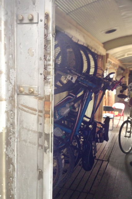 Stowed Bikes