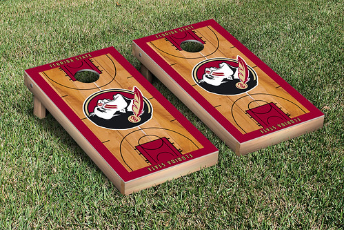 Florida State University Seminoles FSU Cornhole Game Set Basketball