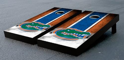 Florida UF Gators Cornhole Game Set Vintage Gator