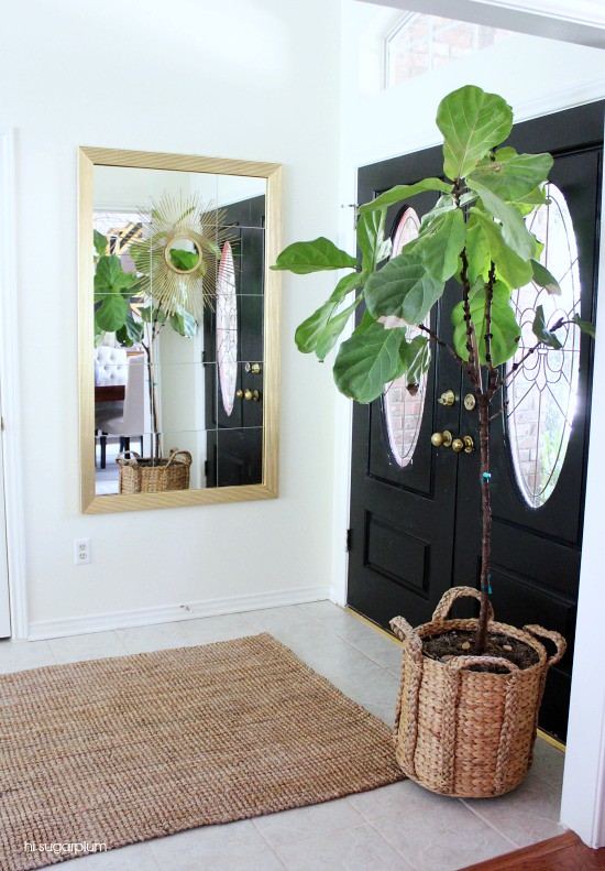 Hi Sugarplum | Entrance Hall Makeover: the Plant