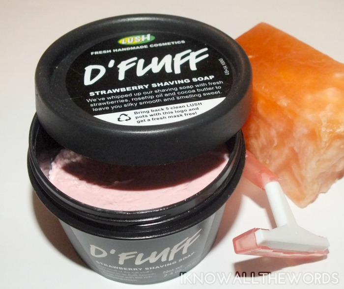 new summer lush- d'fluff shaving soap (3)