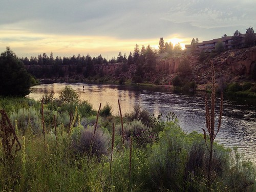 sunset oregon landscape bend hdr iphone deschutesriver iphoneography iphone4s