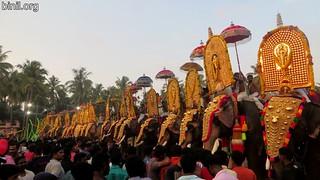 Thrissur Kechery Sree Parappukkavu Bhagavathi Temple Pooram 3