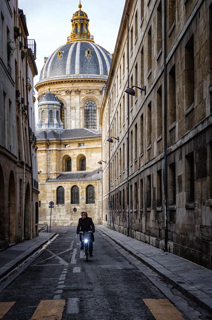 Le cycliste de l'académie