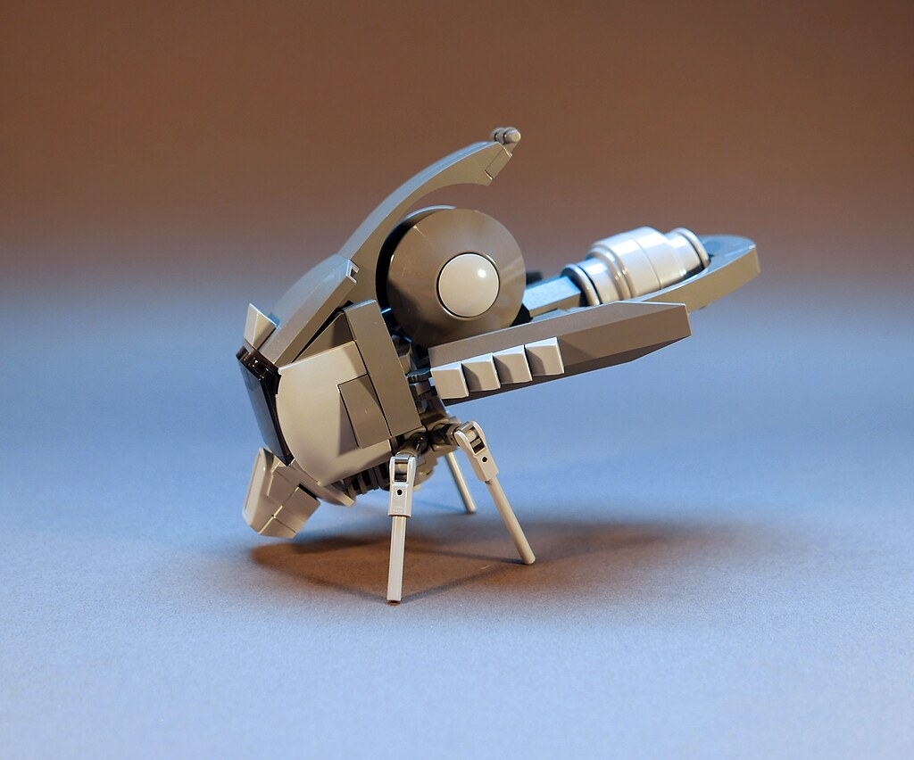 Flying Pod (custom built Lego model)