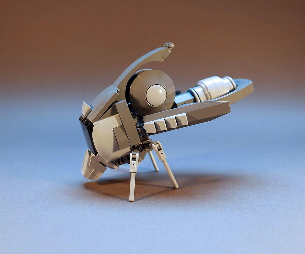 Flying Pod (custom built Lego model)
