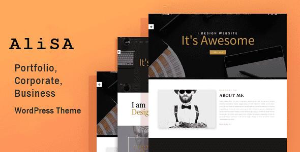 Alisa WordPress Theme free download