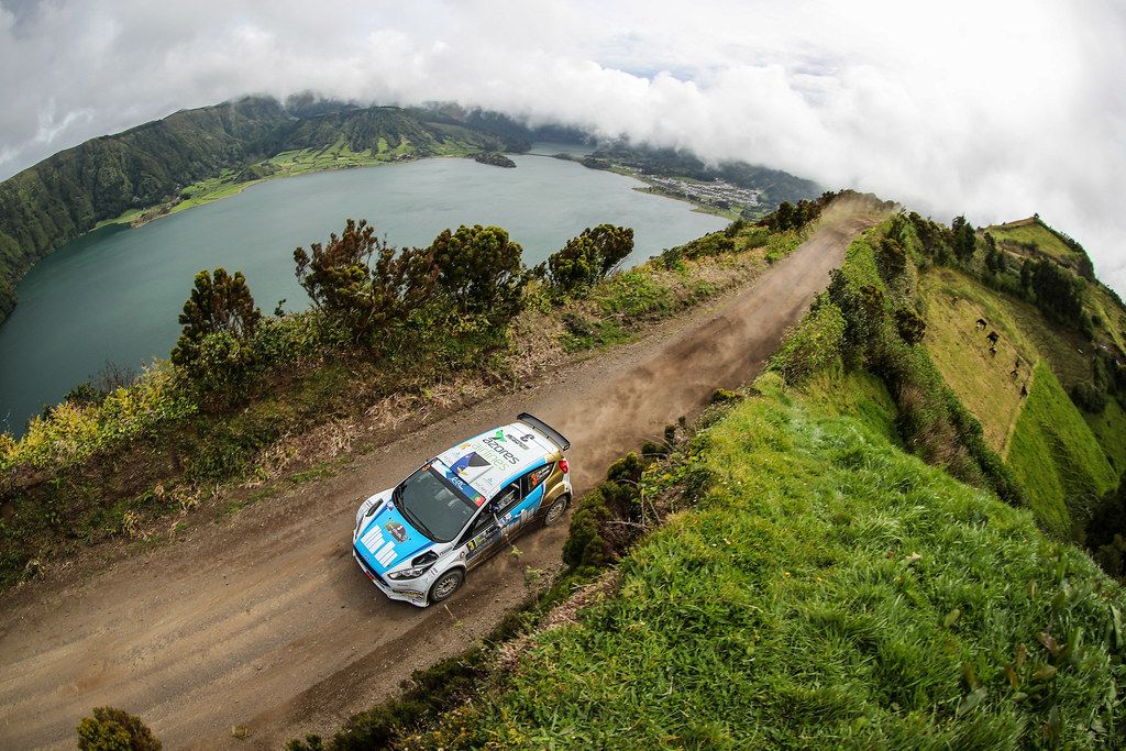 03 MOURA Ricardo COSTA Antonio Ford Fiesta R5 Action during the 2017 European Rally Championship ERC Azores rally,  from March 30  to April 1, at Ponta Delgada Portugal - Photo Jorge Cunha / DPPI