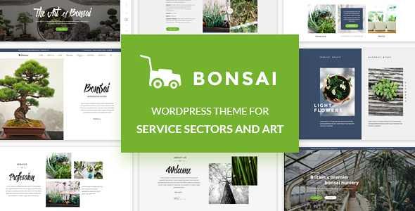 Bonsai WordPress Theme free download