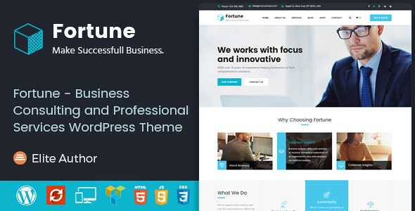 Fortune WordPress Theme free download