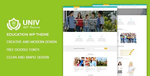 Univ WordPress Theme free download