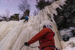March's Last Ice Climb