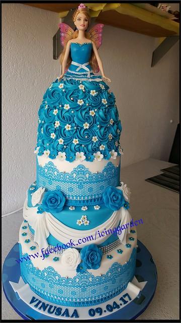 Fondant icing cake / Birthday cake