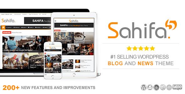 Sahifa WordPress Theme free download