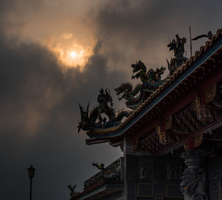 Temple and Sun
