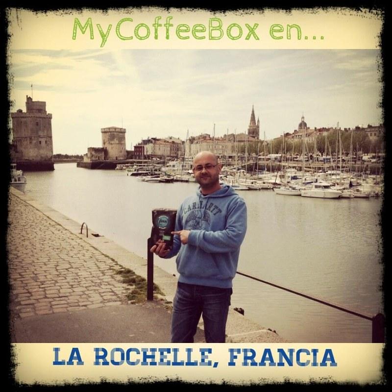 Café de Chiapas envío a Europa por MyCoffeeBox.com Foto en La Rochelle, Francia