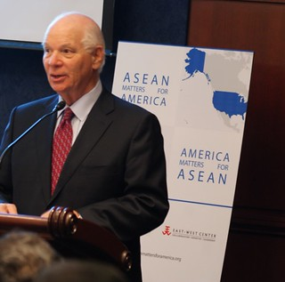 Senator Ben Cardin of Maryland highlighting the value of the new publication.