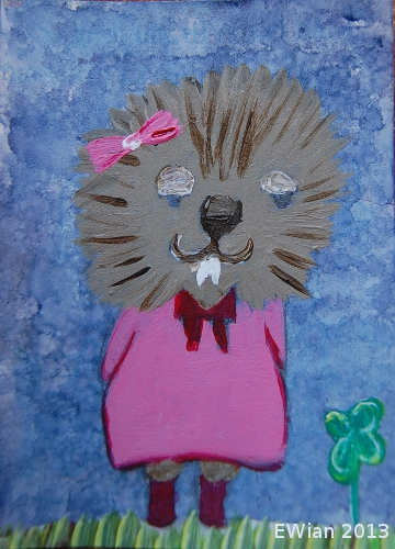 72-365 ATC 2013 St.pat hedgehog