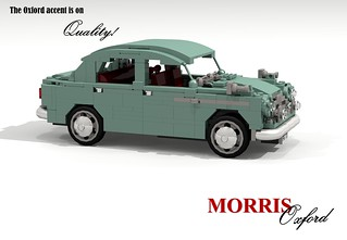 Morris Oxford II - 1954