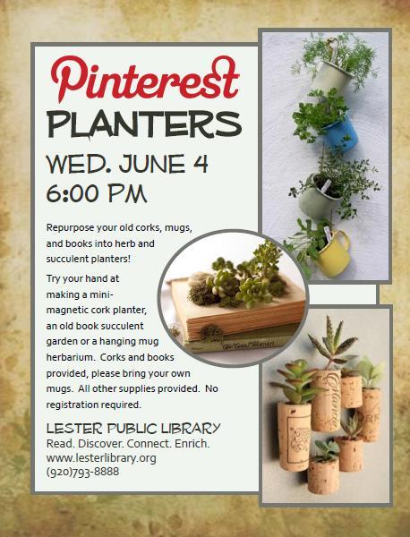 Pinterest Planters