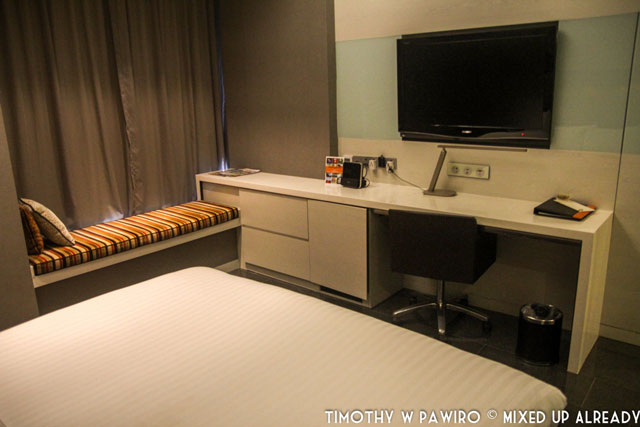 Asia - Singapore - Quincy Hotel - The bedroom - The facility
