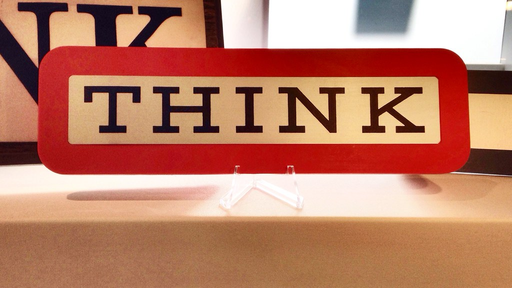 "IBM ""THINK"" card"