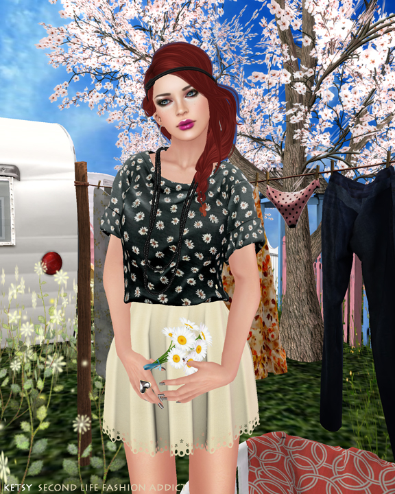 Daisy Chain Gang - NEW Post @ SLFA, Pose Fair 2014 Review & NEW TRUTH Hair