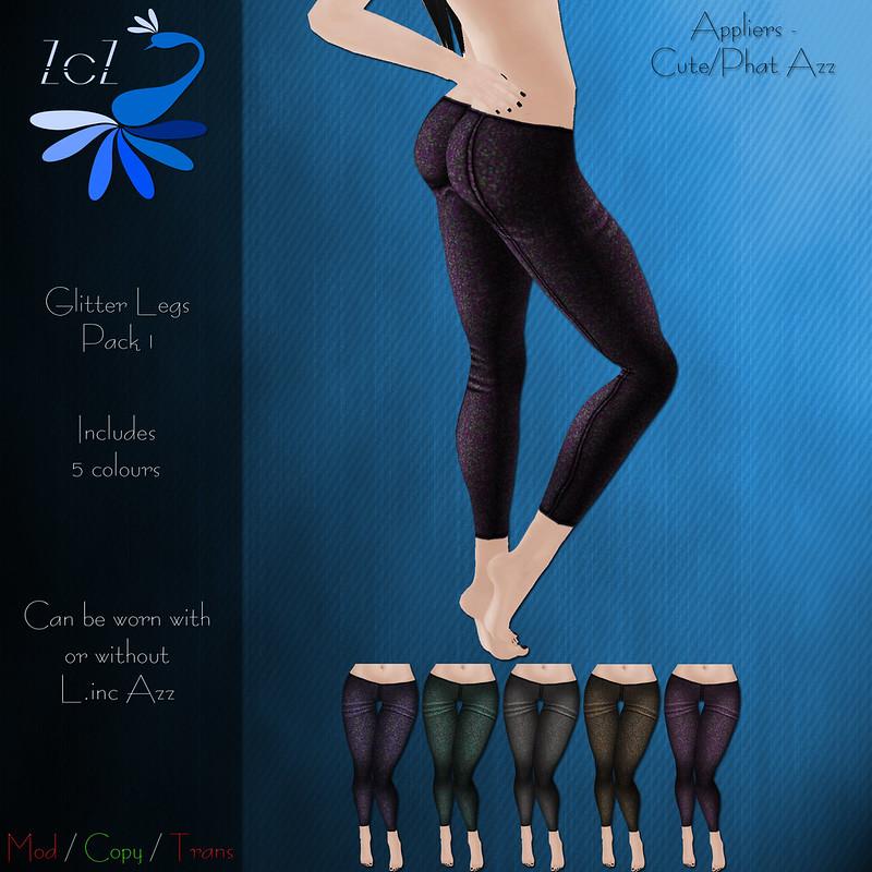 ZcZ Glitter Legs Pack 1 - vendor ad