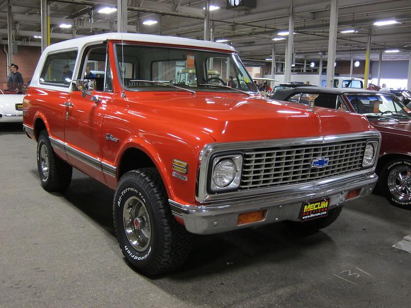 1972 Chevrolet Blazer d