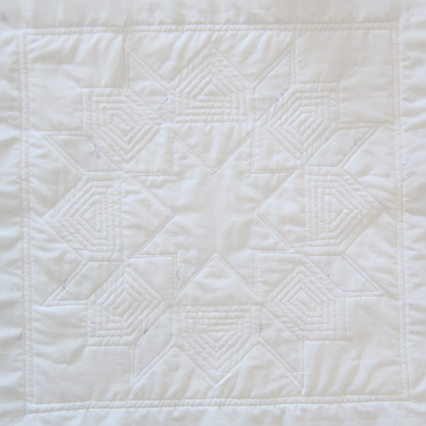swoon pillow quilting