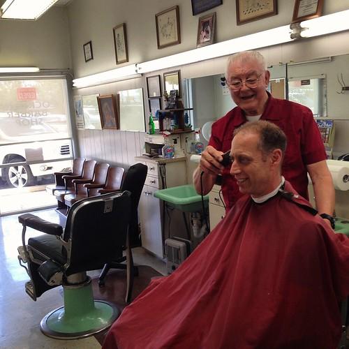 Cockrell's Barber Shop in Austin