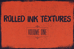 Rolled ink texture packs