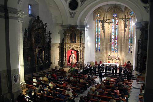 CORO A CAU D´ORELLA EN CONCIERTO - IGLESIA DE SAN MARTÍN - SÁBADO 26.04.14