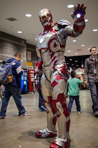 Iron Man Suit Vacuum Formed