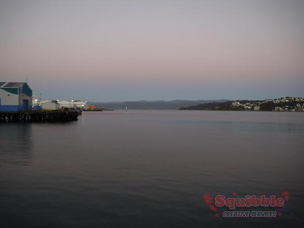 Wellington Waterfront April 2014