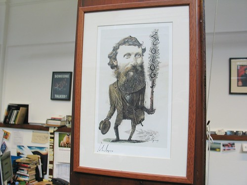 John Muir!  A lovely present for our team from the John Muir Trust :)