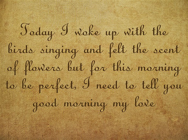 30+ Epic Good Morning Love Quotes Collection